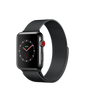 Apple Watch Series 3 - Space Black Stainless Steel Case with Space Black Milanese Loop - GPS + Cellular