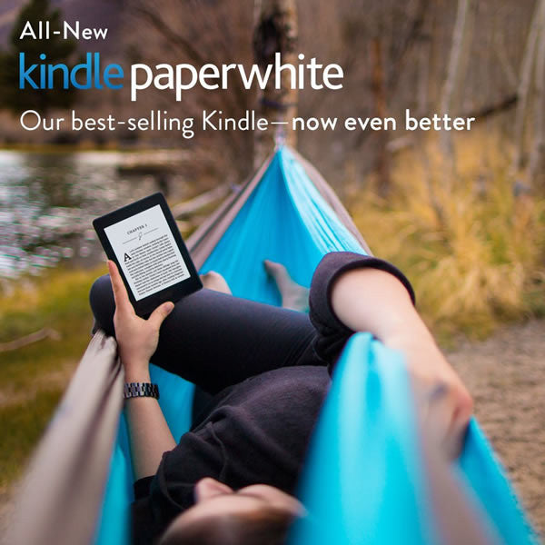 "Kindle Paperwhite, 6"" Hi-Res Display (300 ppi - WiFi Only) - 2015 Version - MediaCenter"