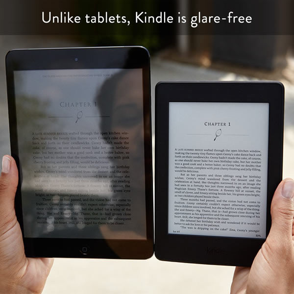 "Kindle Paperwhite, 6"" Hi-Res Display (300 ppi - WiFi Only) - 2015 Version"