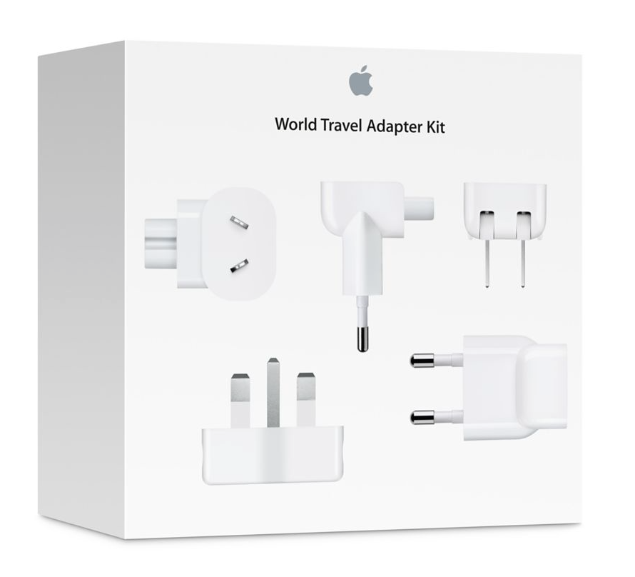 Apple World Travel Adapter Kit - MediaCenter