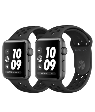 info for 7970d 9e892 Series 3 Nike+ Space Gray Aluminum Case with AnthraciteBlack Nike Sport  Band - GPS