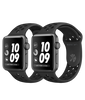 Series 3 Nike+ Space Gray Aluminum Case with Anthracite/Black Nike Sport Band - GPS - MediaCenter