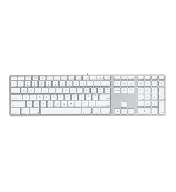 Apple Wired Keyboard with Numpad - MediaCenter