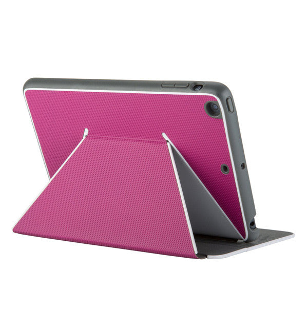 DuraFolio iPad Air Fuchsia Pink/White