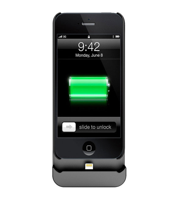 Hybrid 2200mAh for iPhone 5S Black
