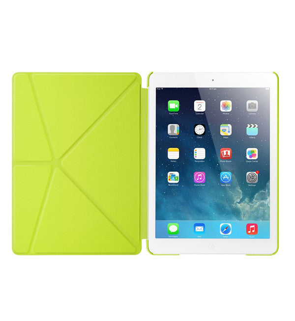 RE•VOLVE IPAD AIR CASE - GREEN