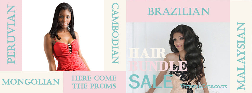 Proms Hair Bundle Sale