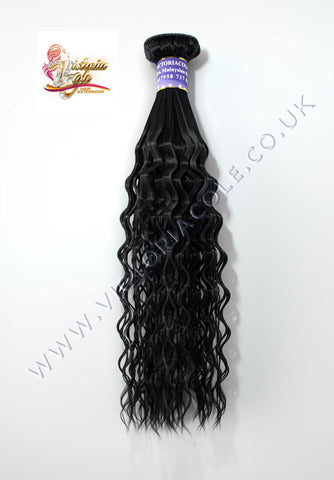"Malaysian New Bouncy 8""  Virgin Hair Extensions - 10A"