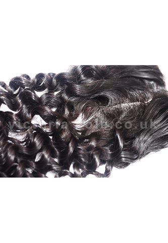 "8"" Loose Jerry Lace Closure 1B Natural Black"