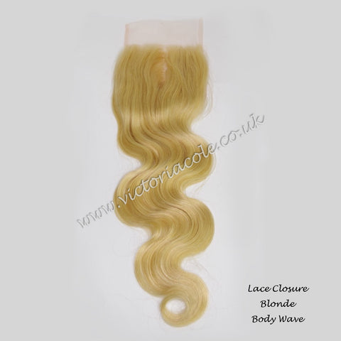 "Blonde 12"" Lace Frontal"
