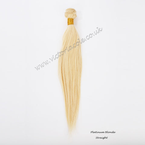 Cambodian Straight Ombre 1B/1/613 Lightest blonde 14"