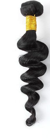 "10A Malaysian Bouncy Curl 16"" Virgin Hair Extensions"