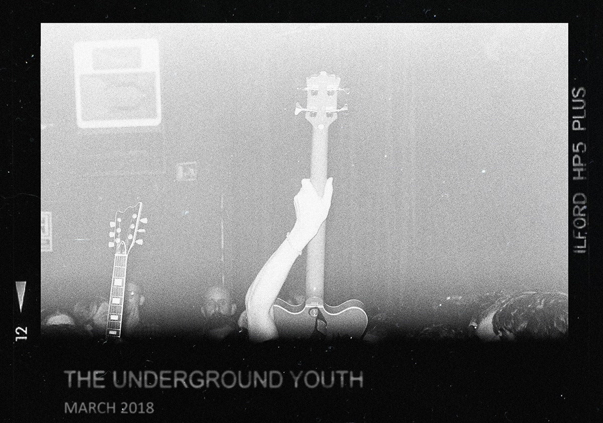 The Underground Youth MarchTour Poster