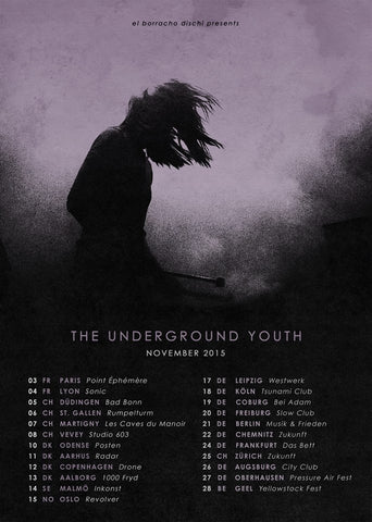The Underground Youth Tour Poster