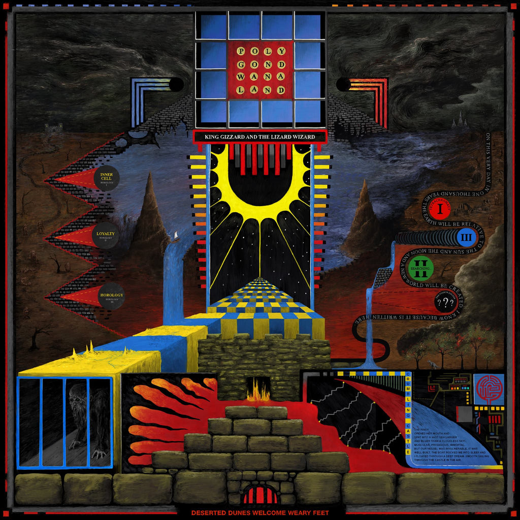 King Gizzard & The Lizard Wizard - POLYGONDWANALAND (Fuzz Club Version),Vinyl,Fuzz Club - Fuzz Club