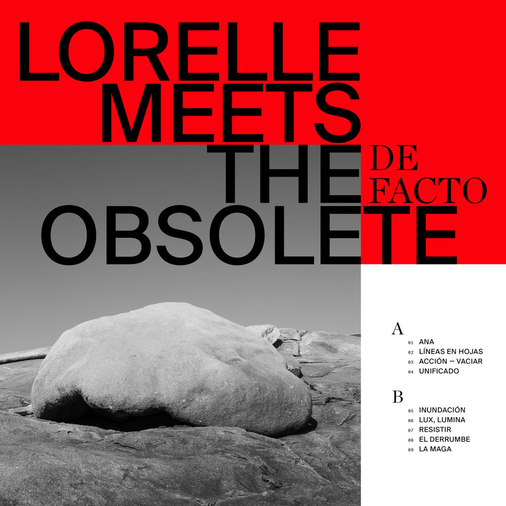 Pre-Order: Lorelle Meets The Obsolete - De Facto,Vinyl,Sonic Cathedral - Fuzz Club