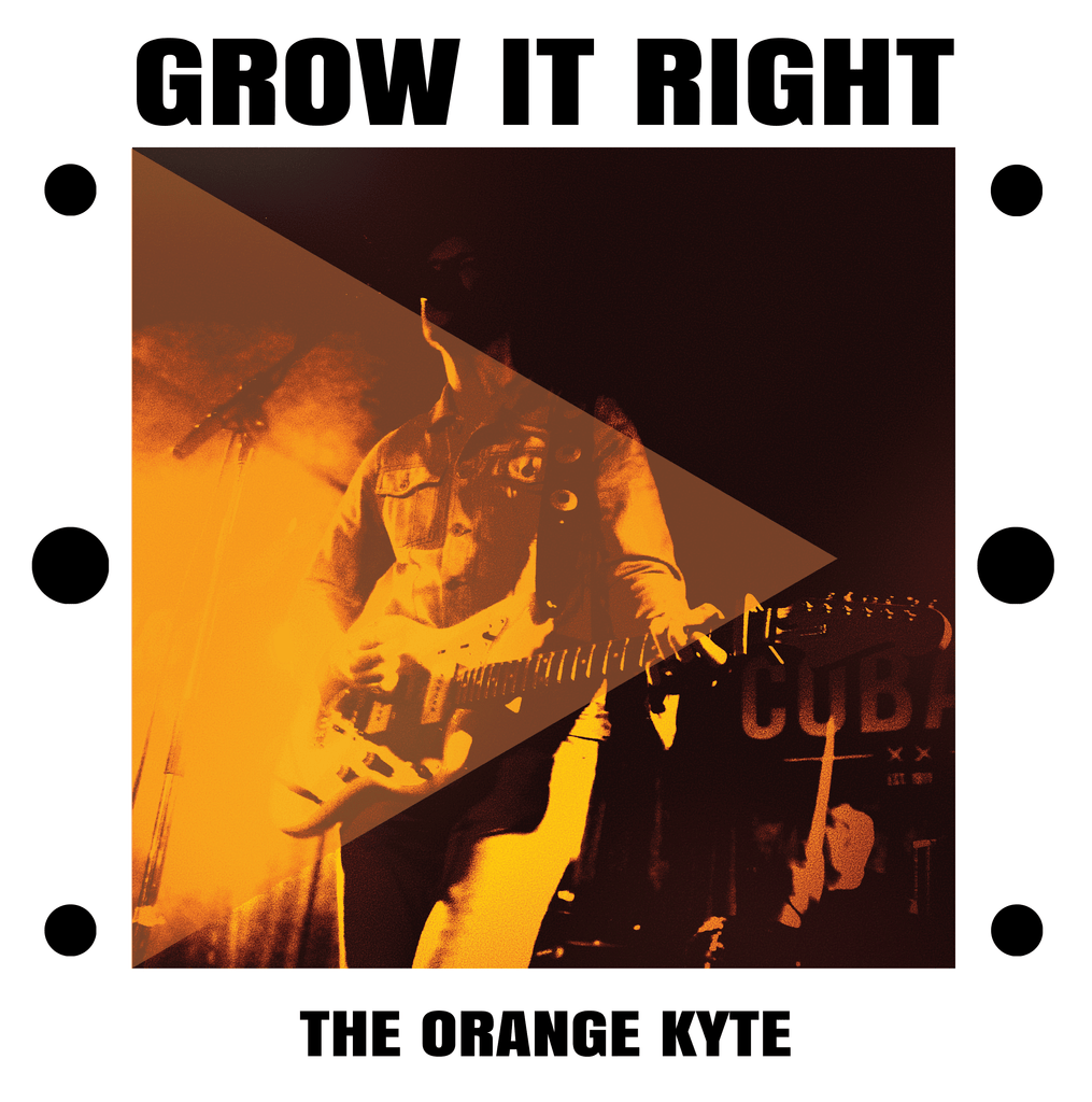 The Orange Kyte - Grow It Right,Vinyl,Little Cloud Records - Fuzz Club