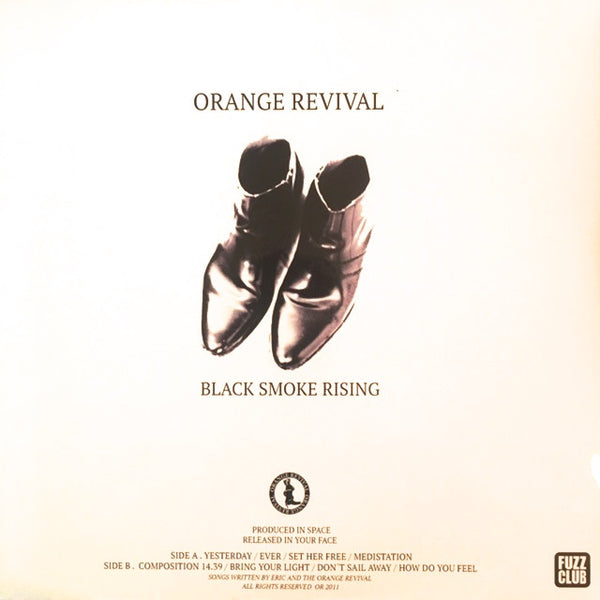 Orange Revival - Black Smoke Rising,Vinyl,Fuzz Club - Fuzz Club