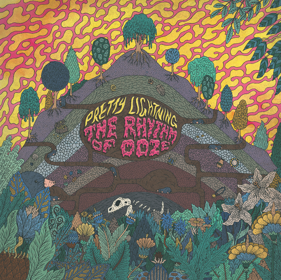 Pretty Lightning - The Rhythm Of Ooze,Vinyl,Fuzz Club - Fuzz Club