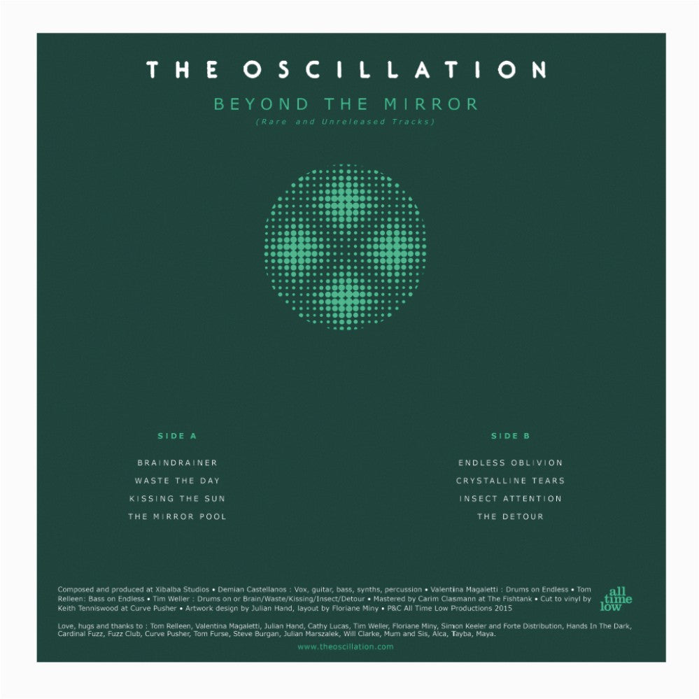 The Oscillation - Beyond The Mirror : Rare and Unreleased Tracks,Vinyl,Fuzz Club - Fuzz Club