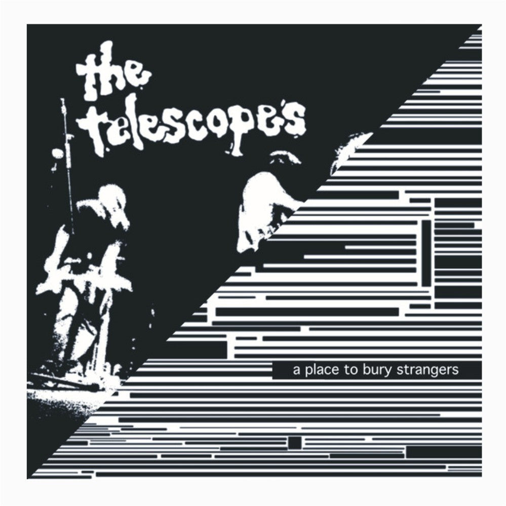 Split Single No 6 - A Place To Bury Strangers / The Telescopes,Vinyl,Fuzz Club - Fuzz Club