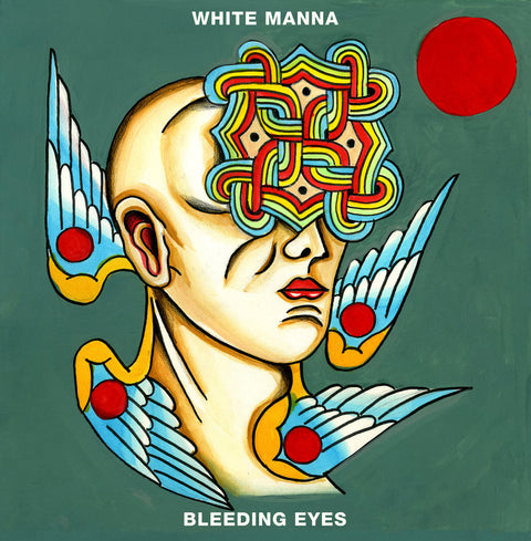 White Manna - Bleeding Eyes,Vinyl,Cardinal Fuzz - Fuzz Club