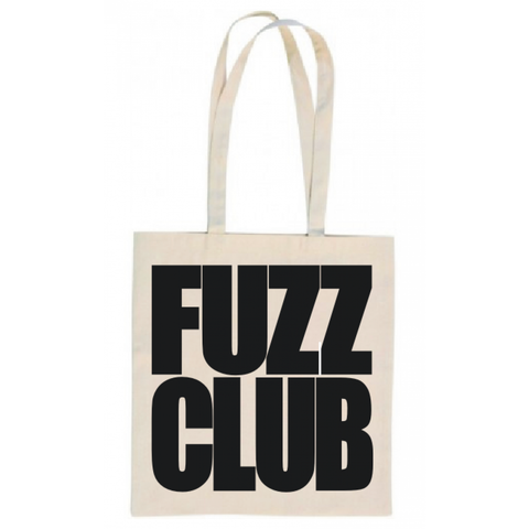 Fuzz Club - Canvas Logo Tote Bag,Tote Bag,Fuzz Club - Fuzz Club