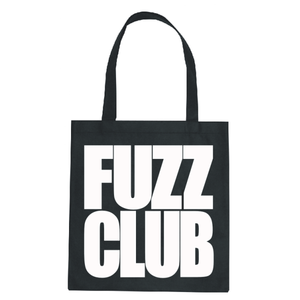 Fuzz Club - Black Logo Tote Bag,Tote Bag,Fuzz Club - Fuzz Club