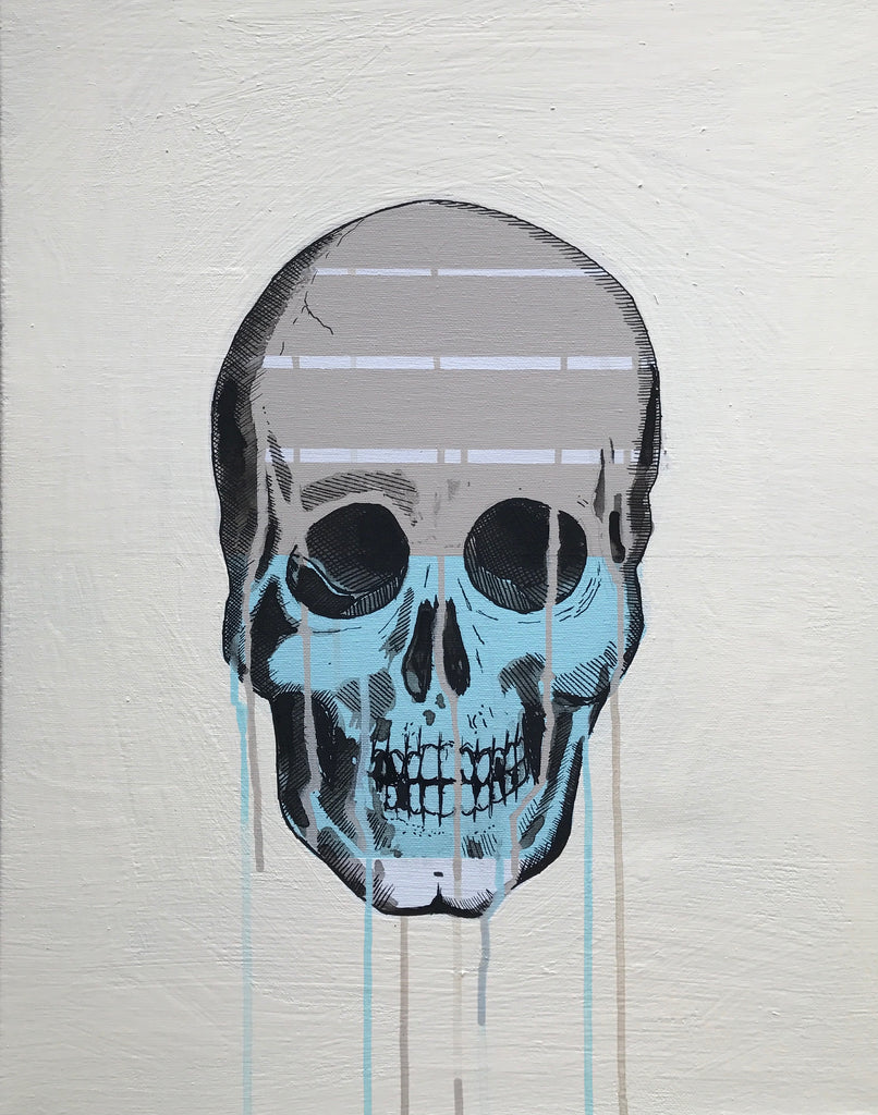 Skull with Drip