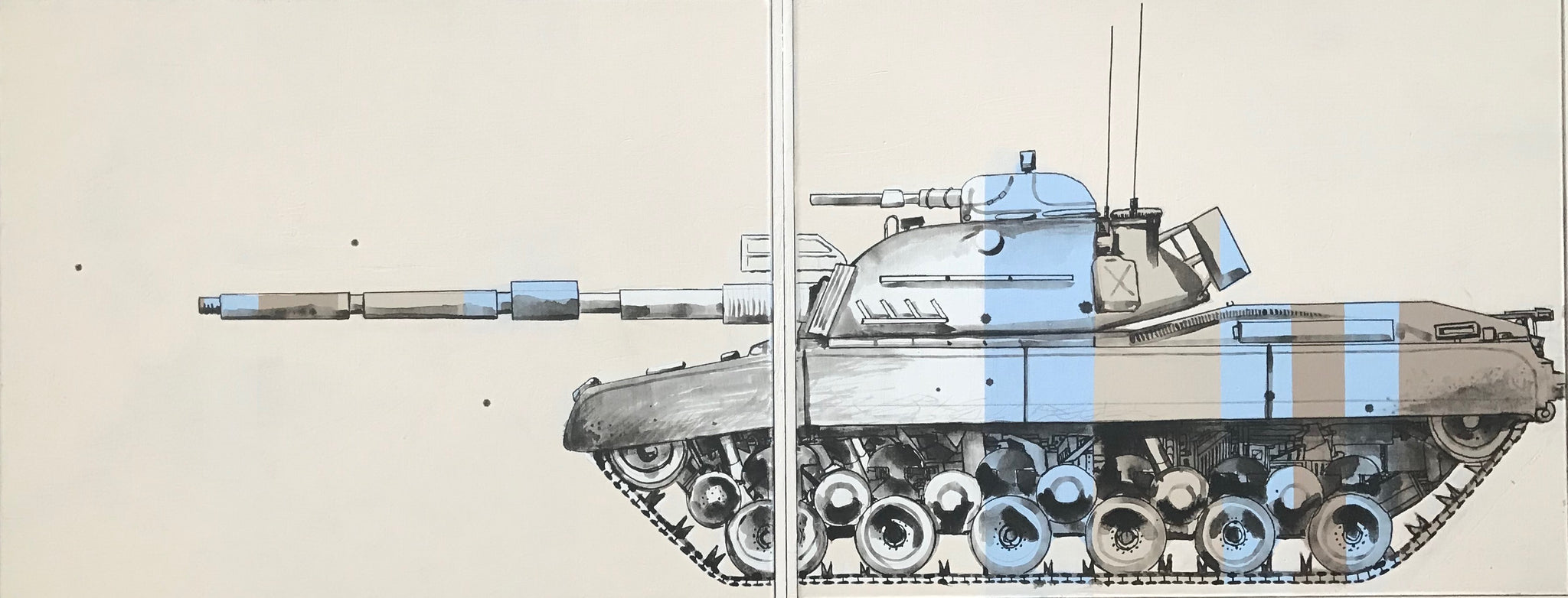 Turkish Tank Diptych