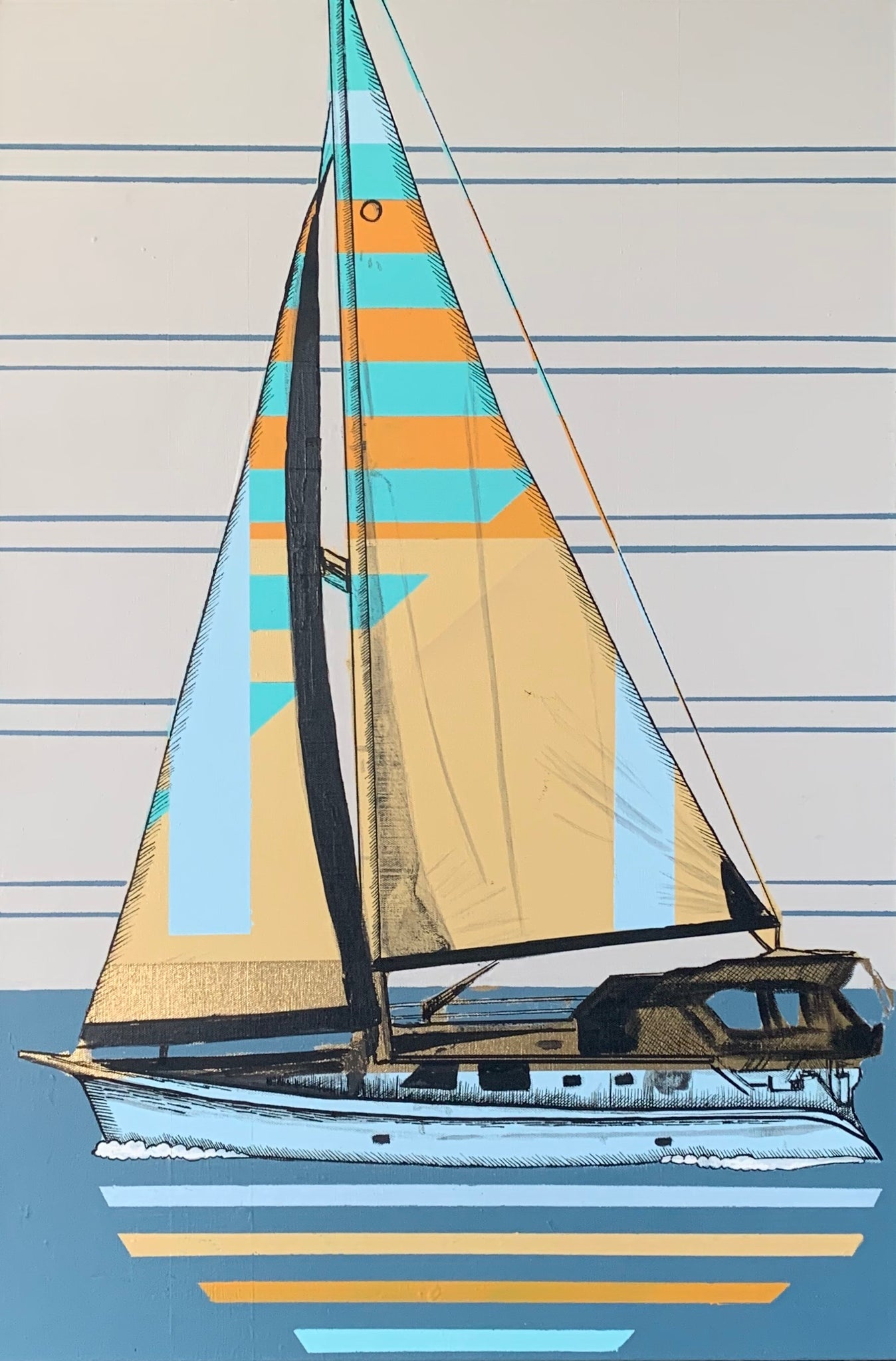 Surf Expo Sailboat