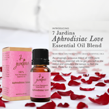 "7 Jardins Libido Booster  ★100% Pure Therapeutic Essential Oil ""Aphrodisiac Love"" (10 ml) ★Stimulate Sexual Drive  ★Enriched with Powerfull Plant Based Natural Ingredients - Mediderm - 5"