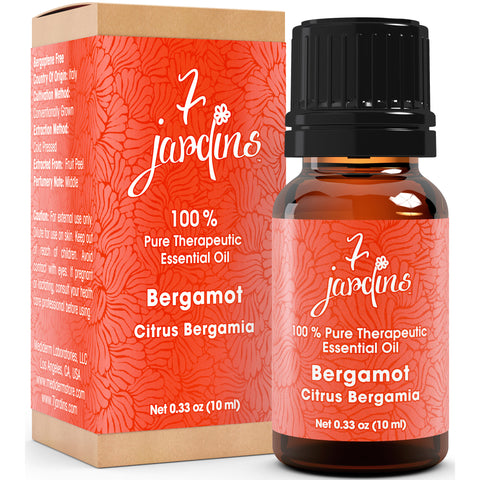 Bergamot Essential Oil - Citrus Bergamia- 100% Pure Therapeutic Grade