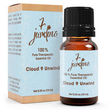 "7 Jardins Anxiety Reliever  ★100% Pure Therapeutic Essential Oil ""Cloud 9 Unwind"" (10 ml) ★Natural Remedy for Stress, Depression & Tension ★Enriched with Plant Based Natural Ingredients - Mediderm - 1"