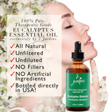 "7 Jardins Allergy Reliever ★100% Pure Therapeutic Essential Oil ""Eucalyptus Globulus"" (120 ml) ★Best Remedy for Stress, Sinus & Congestion Treatment ★Enriched with Plant Based Natural Ingredients - Mediderm - 5"