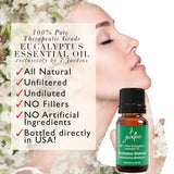 "7 Jardins Allergy Reliever ★100% Pure Therapeutic Essential Oil ""Eucalyptus Globulus"" (10 ml) ★Best Remedy for Stress, Sinus & Congestion Treatment ★Enriched with Plant Based Natural Ingredients - Mediderm - 5"