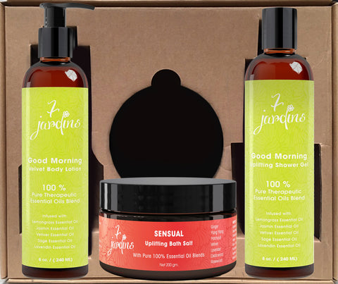 Good Morning Beautiful Aromatherapy Spa Gift Set