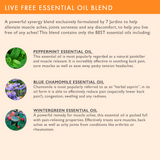 "7 Jardins Pain Relief Oil ★100% Pure Therapeutic Essential Oil ""Live Free"" (10 ml) ★Alleviates Muscle Aches ★Enriched with Plant Based Natural Ingredients - Mediderm - 7"