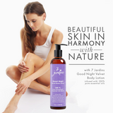 7 Jardins Good Night Velvet Body Lotion - Daily Body Moisturizer for All Skin Types Enriched with Lavender, Sweet Orange, Geranium, Cedarwood & Frankincense Essential Oils - 100% Safe & Sulfate Free - Mediderm - 2
