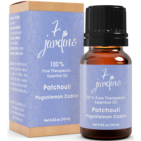 Patchouli Essential Oil -Pogostemon Cabli-100% Pure Mood Enhancer