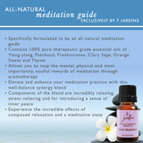 "7 Jardins Soul Meditation Synergy Blender ★100% Pure Therapeutic Essential Oil ""Soulful Meditation""  (10 ml) ★Enhances your Meditation Experience ★Enriched with Plant Based Natural Ingredients - Mediderm - 6"