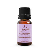 "7 Jardins Soul Meditation Synergy Blender ★100% Pure Therapeutic Essential Oil ""Soulful Meditation""  (10 ml) ★Enhances your Meditation Experience ★Enriched with Plant Based Natural Ingredients - Mediderm - 5"