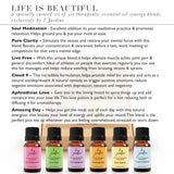 "7 Jardins ""Life is Beautiful"" Essential Oils Synergy Blends Kit - Top 6 Essential Oils Aromatherapy Kit 100% Pure Therapeutic Essential Oils Gift Pack - Mediderm - 3"