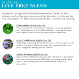 "7 Jardins ""Life is Beautiful"" Essential Oils Synergy Blends Kit - Top 6 Essential Oils Aromatherapy Kit 100% Pure Therapeutic Essential Oils Gift Pack - Mediderm - 7"