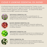 "7 Jardins Anxiety Reliever  ★100% Pure Therapeutic Essential Oil ""Cloud 9 Unwind"" (10 ml) ★Natural Remedy for Stress, Depression & Tension ★Enriched with Plant Based Natural Ingredients - Mediderm - 6"