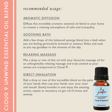 "7 Jardins Anxiety Reliever  ★100% Pure Therapeutic Essential Oil ""Cloud 9 Unwind"" (10 ml) ★Natural Remedy for Stress, Depression & Tension ★Enriched with Plant Based Natural Ingredients - Mediderm - 5"