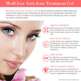 Mediderm MedClear Anti-Acne Treatment Gel - Mediderm - 5