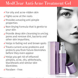 Mediderm MedClear Anti-Acne Treatment Gel - Mediderm - 4