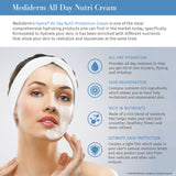 MediDerm Hydra All Day Nutri Protection Cream - Excellent Facial Moisturizer - Mediderm - 4