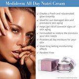 MediDerm Hydra All Day Nutri Protection Cream - Excellent Facial Moisturizer - Mediderm - 3